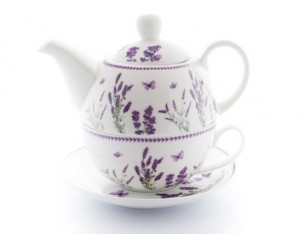 "Zestaw Livello ""TEA FOR ONE"" Lawenda CR5-10"